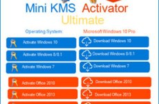 Mini KMS Activator Ultimate 1.4 Free Download