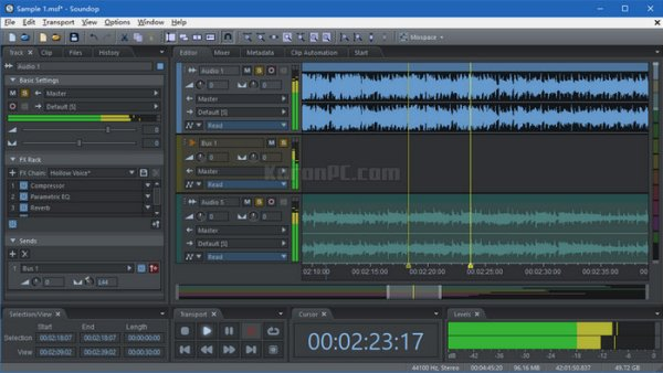 Soundop Audio Editor Free Download