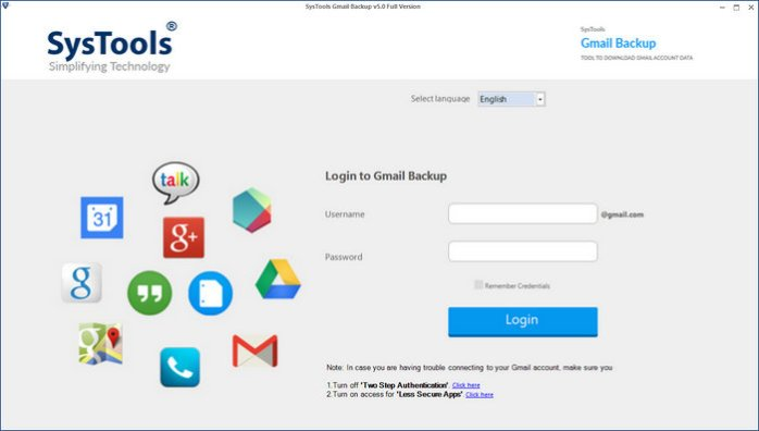 SysTools Gmail Backup Full Version