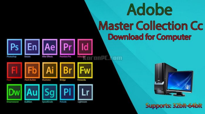 Adobe Master Collection CC Full ISO Download