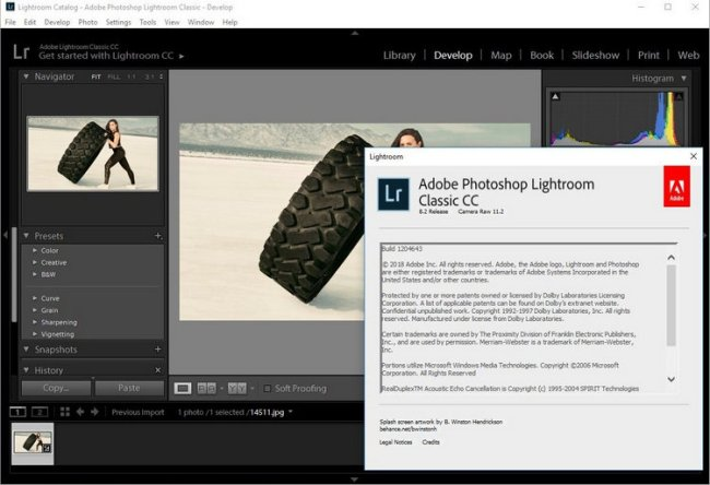 Adobe Photoshop Lightroom Classic CC 2019 Download