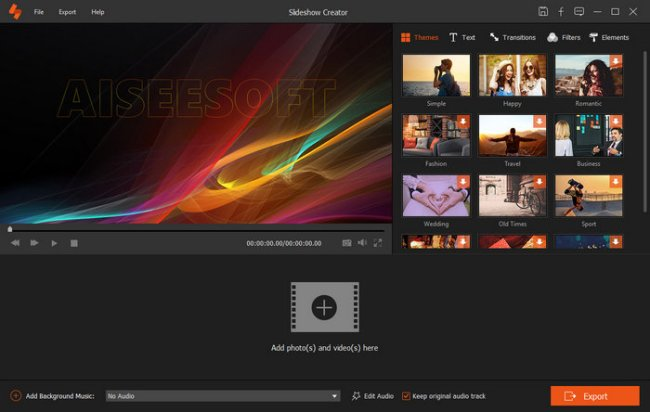 Aiseesoft Slideshow Creator Full Version