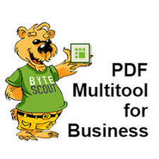 Download ByteScout PDF Multitool Business