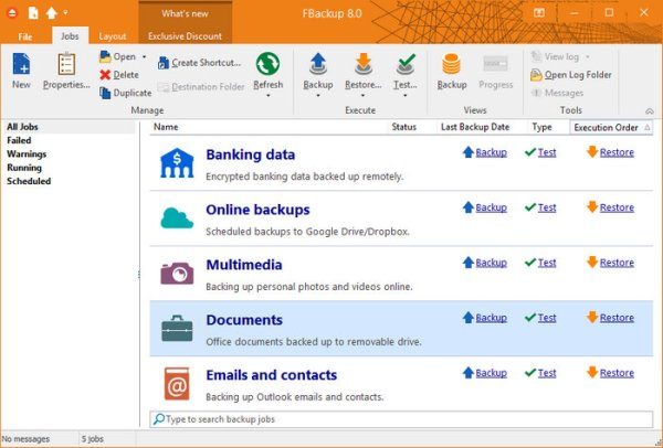 FBackup 8 Free Download