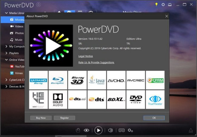 CyberLink PowerDVD Ultra 19 Full Version