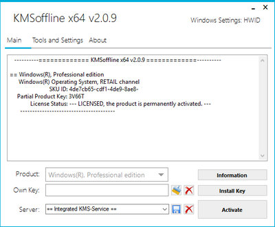 KMSOffline 2.1.2 Free Download