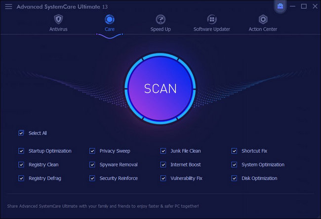IObit Advanced SystemCare 13 Ultimate License