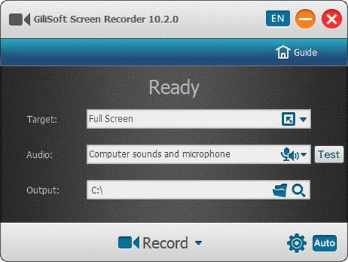 GiliSoft Screen Recorder 10 Full Version