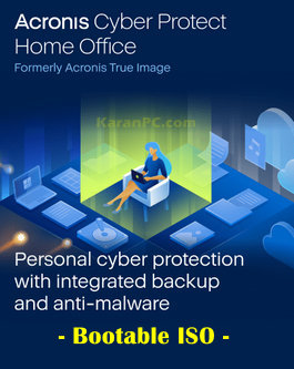 Acronis Cyber Protect Home Office BootCD