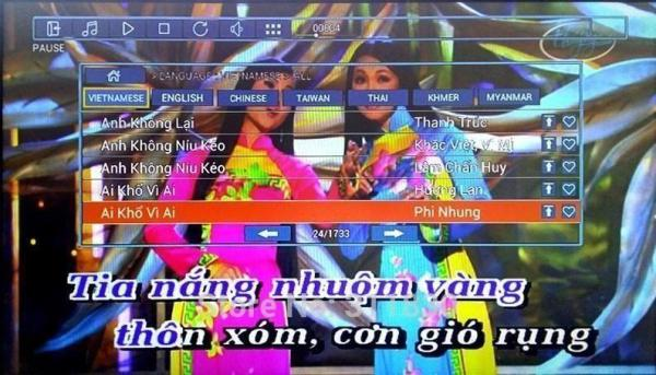 5Tb Android KTV-8866E 5TB Vietnamese karaoke player 31700+ song with 2 books and 2 remote-38