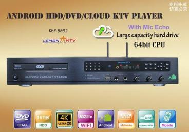 Lemon Android KTV KHP 8832 4K 6TB HDD 57000 Vietnamese English karaoke Player-0