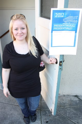 We went to Berkeley for the day to accompany Marika to vote in the Finnish elections.