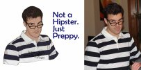 Not a Hipster. Just Preppy