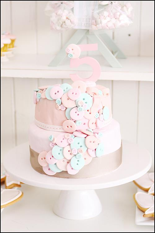 Cute Dessert Wallpaper Kara S Party Ideas Buttons Amp Bows 5th Birthday Party