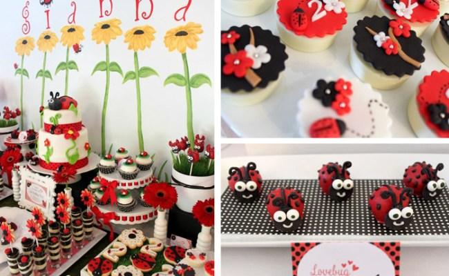 Kara S Party Ideas Lovebug Ladybug Birthday Party Ideas