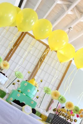 Karas Party Ideas Bumble Bee Birthday Party  Karas Party Ideas