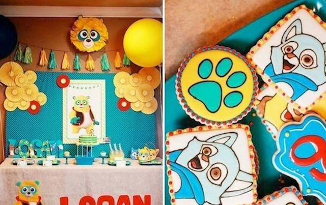 Karas Party Ideas Special Agent Oso Bear Spy Disney Channel Party Planning Ideas Decor
