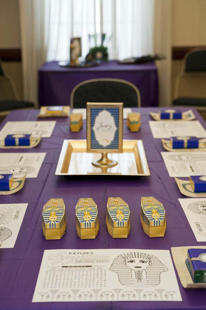 Kara S Party Ideas Egyptian Spa Party Via Kara S Party