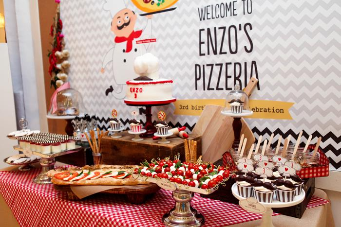 Karas Party Ideas Pizza Birthday Party Planning Ideas