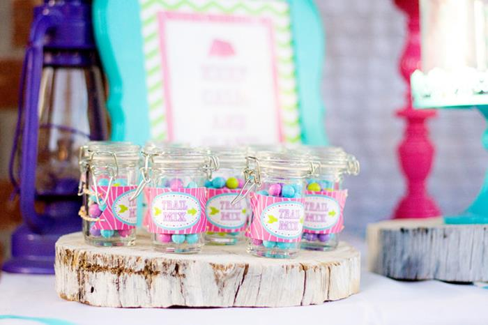 Karas Party Ideas Glamping Party via Karas Party Ideas KarasPartyIdeascom Camping