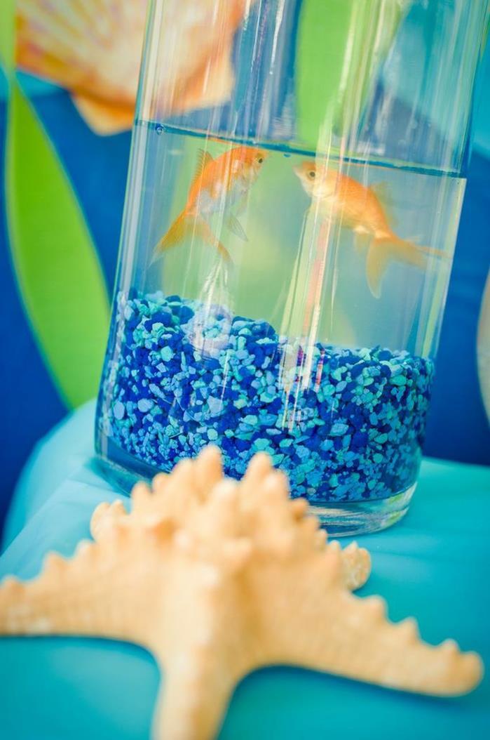 Karas Party Ideas Under the Sea Water Party via Karas