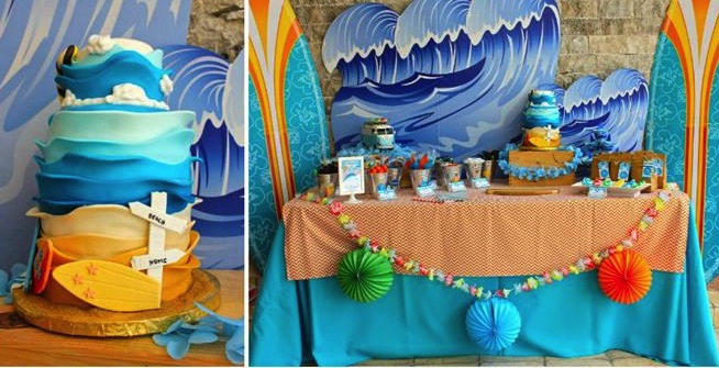 Cute Boy Themed Wallpaper Kara S Party Ideas Surf Shack Birthday Party Planning