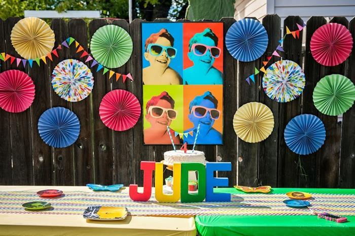 Karas Party Ideas Pop Art Party Planning Ideas Supplies