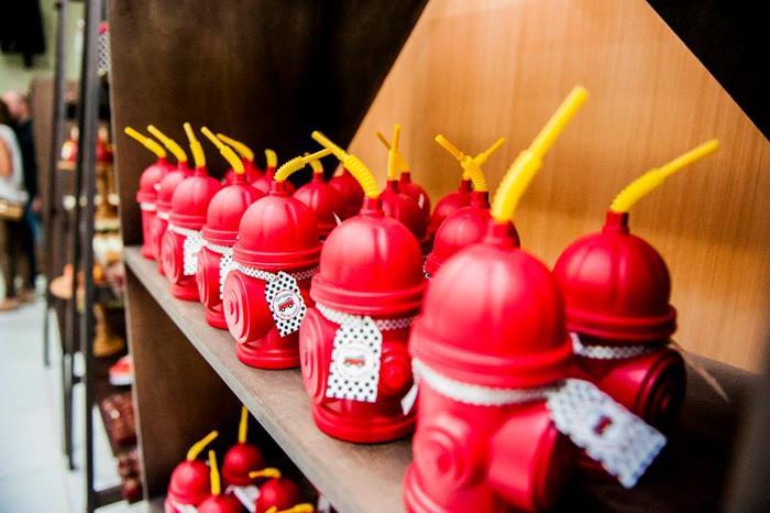 Kara S Party Ideas Firefighter Party Ideas Planning Idea Firetruck Supplies Cake Decor