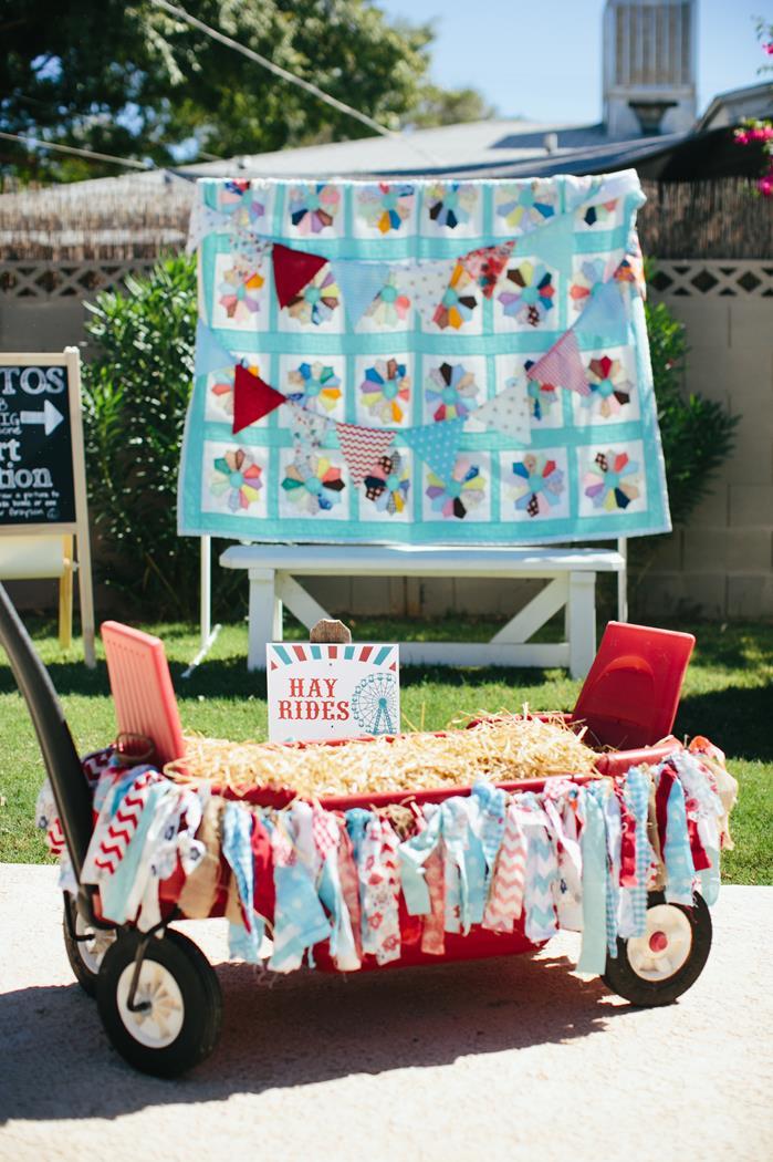 Kara S Party Ideas County Fair Themed 1st Birthday Party