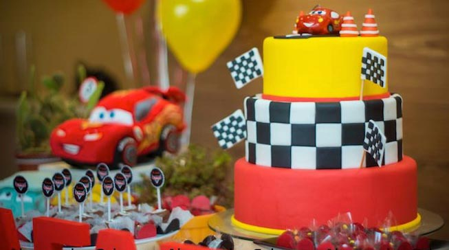 Kara S Party Ideas Lightning Mcqueen Cars Birthday Party