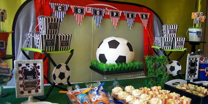 Kara's Party Ideas Kickin' Soccer Birthday Party {planning