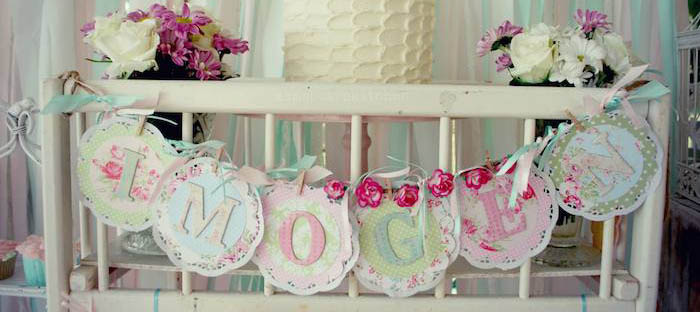 kitchen themed bridal shower stainless steel carts kara's party ideas shabby chic pink and mint baby ...