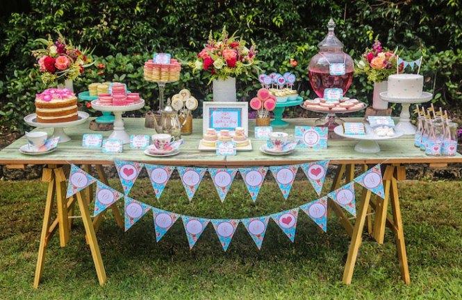 Sweet Tea Party D Cor Decor Ideas And
