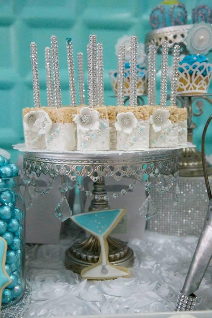 Tiffany Blue Baby Shower Decorations