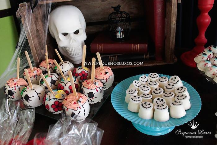 Kara's Party Ideas Haunted House Themed Birthday Party Via Kara's
