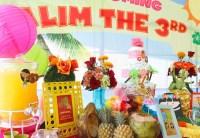 Kara's Party Ideas Hawaiian Luau baby shower via Kara's