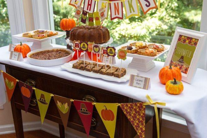 Edible Thanksgiving Centerpieces