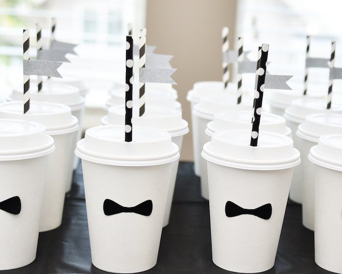00cd075ec14 √ Kara s Party Ideas Black   White Bow Tie Themed Birthday