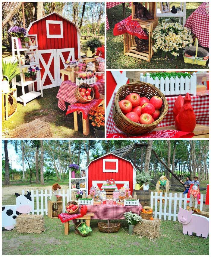 Farm Barn Party