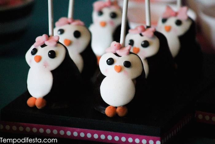 Karas Party Ideas Penguin Themed Birthday Party