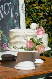 Kara's Party Ideas Rustic Chic Bridal Shower via Kara's ...
