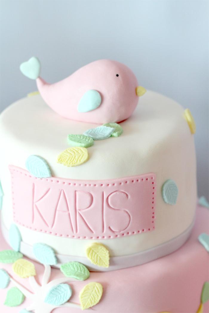 Karas Party Ideas Pastel Little Bird Birthday Party Via