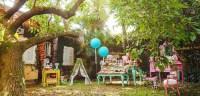 Kara's Party Ideas Boho Woodland Camping Party | Kara's ...