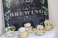 Kara's Party Ideas Paper Tea Cup Favors from a Baby Shower ...