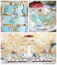 Kara's Party Ideas Baby Shower Tea Party via Kara's Party ...