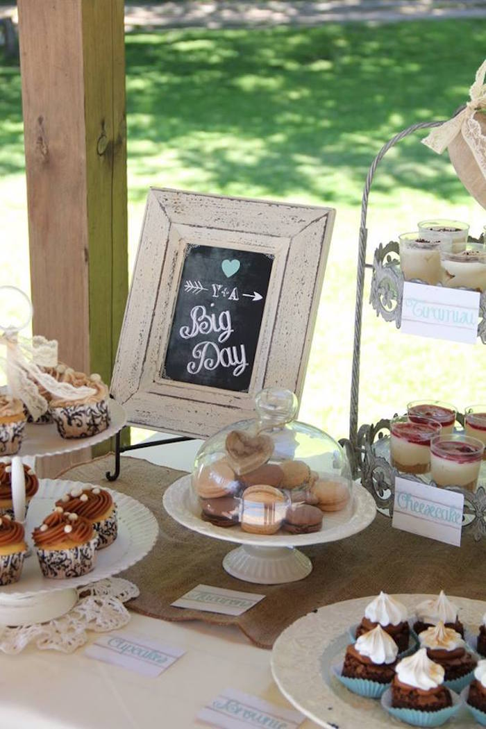 Karas Party Ideas Sweets Decor From A Vintage Shabby