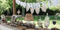 Kara's Party Ideas Vintage Shabby Chic Wedding