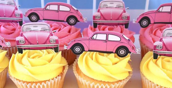 Kara S Party Ideas 60 S Vw Love Bug Birthday Party Kara