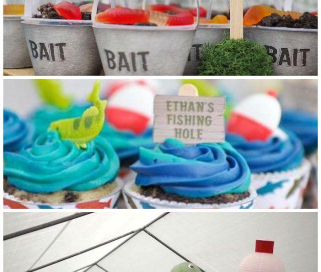 Gone Fishing Birthday Party Via Karas Party Ideas Karaspartyideas Com
