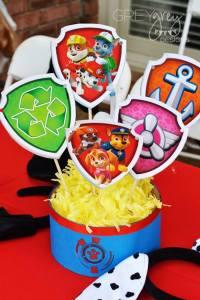 Kara's Party Ideas Paw Patrol Birthday Party | Kara's ...